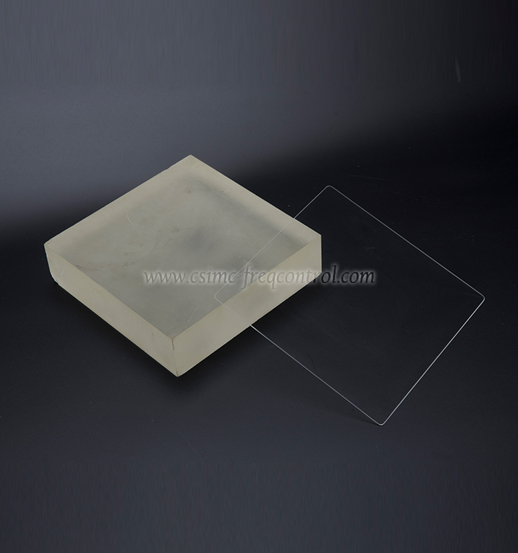 Series Glass & Fused Silica Wafers