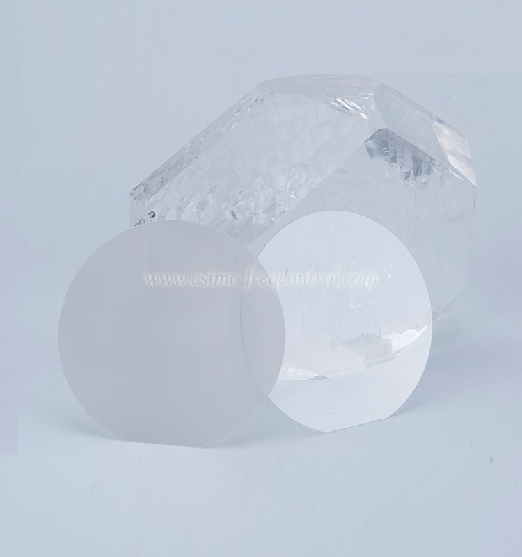 Single Crystal Quartz Wafers