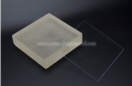 Manufacturing steps of Fused Silica Wafers
