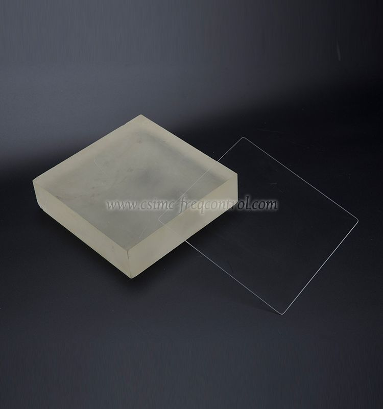 Fused Glass Wafers